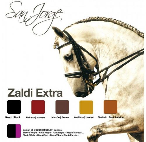 Zaldi San Jorge competition double bridle
